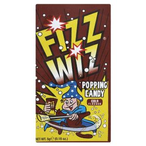 Cola Flavour Fizz Wiz Popping Candy 5g